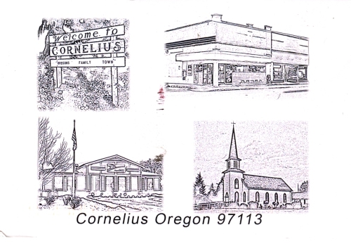 From the Postmaster - Cornelius, OR