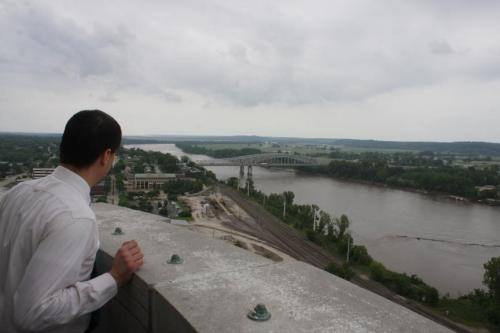 Nice view, and pretty much worth it. I've always like the Mo River Bridge