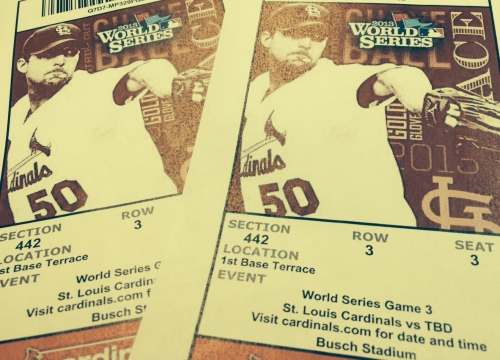 World Series tix